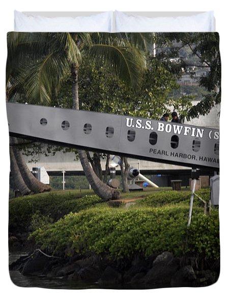 U.s.s. Bowfin Duvet Cover