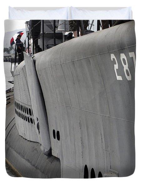 U.s.s. Bowfin, Pearl Harbor Duvet Cover