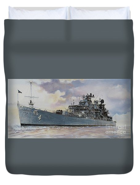 Uss Little Rock Duvet Cover