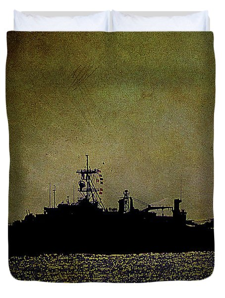 Uss Ponce Lpd-15 Duvet Cover
