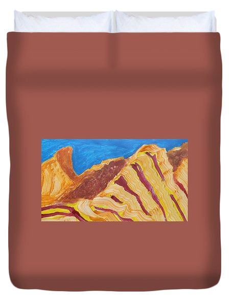 Utah  Canyons Duvet Cover by Don Koester