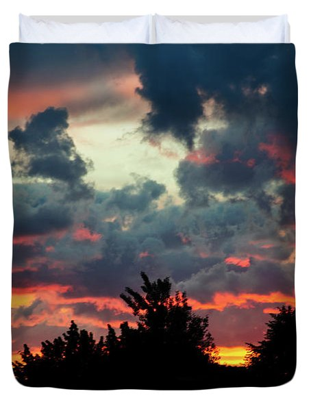 Utah Sunset Duvet Cover