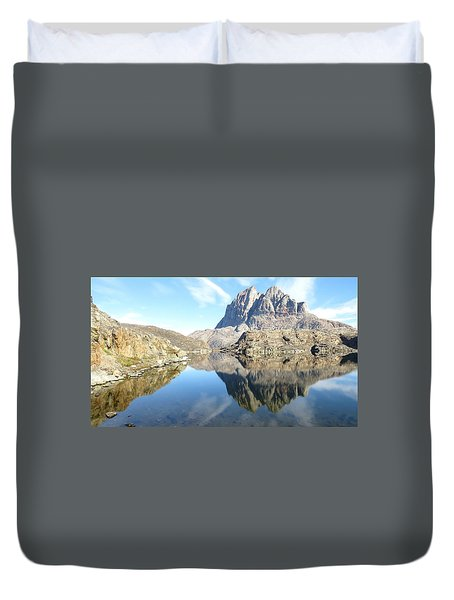 Uumm Lake Duvet Cover