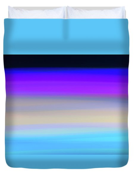 Uv Dawn Duvet Cover