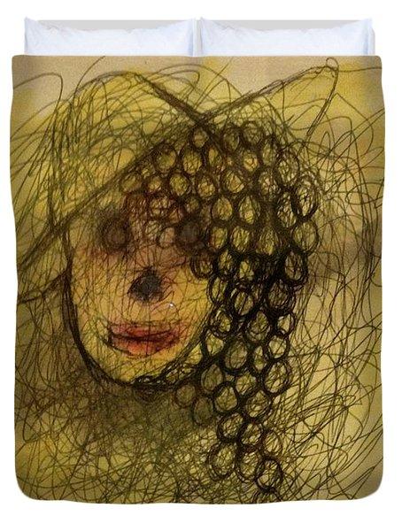 Uva Queen Of The Grapes Duvet Cover