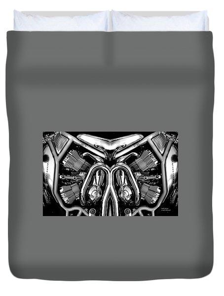 V-rod Duvet Cover