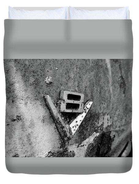 V8 Emblem Duvet Cover