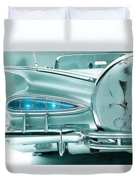 V8 Marilyn Duvet Cover by Greg Sharpe