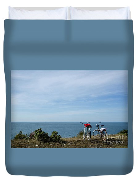 Duvet Cover featuring the photograph Vacation by Kennerth and Birgitta Kullman