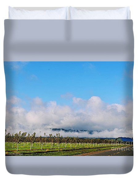 Vacaville Orchard Duvet Cover