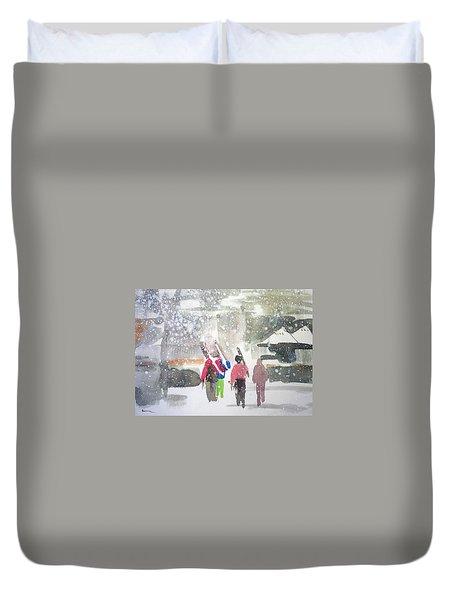 Vail,colorado  Duvet Cover