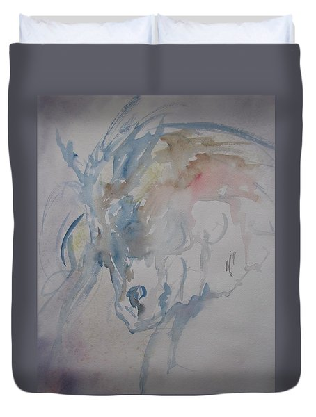 Valant Steed Duvet Cover