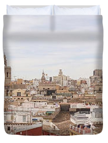 Valencia Panorama Duvet Cover