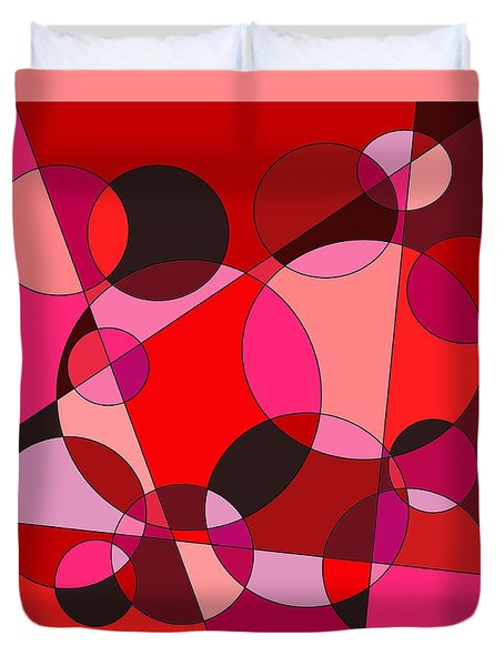 Valentine Dreams Duvet Cover by Jeff Gater