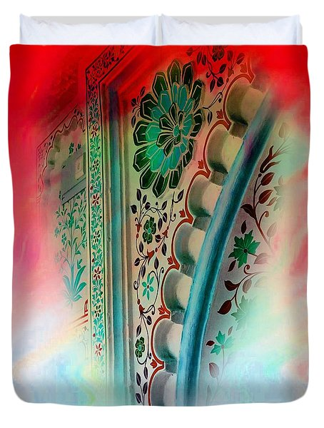 Valentine Heart Dreams Series Abstract Udaipur Rajasthan India 1a Duvet Cover