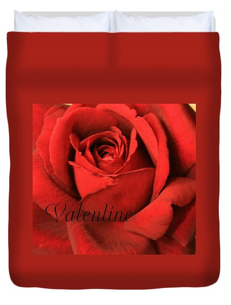 Valentine Duvet Cover by Marna Edwards Flavell