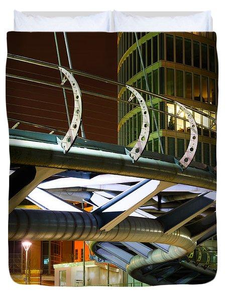 Valentines Bridge, Bristol Duvet Cover