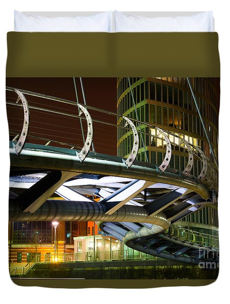 Valentines Bridge, Bristol Duvet Cover