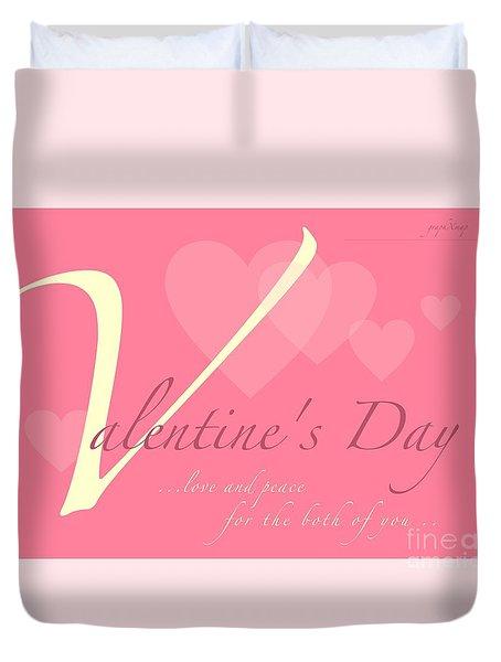Valentine's Day Duvet Cover