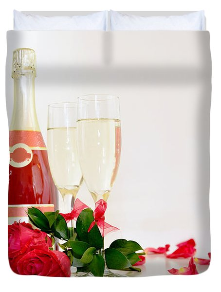 Valentine's Display Duvet Cover