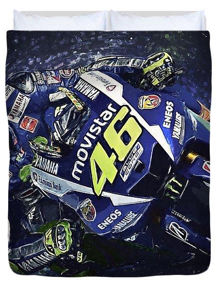 Valentino Rossi Duvet Cover