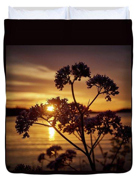 Valerian Sunset Duvet Cover