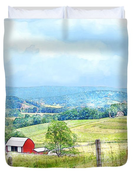 Valley Farm Duvet Cover