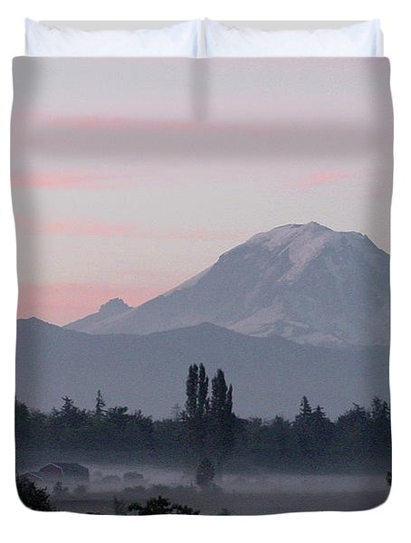 Valley Mists Duvet Cover by Shirley Heyn
