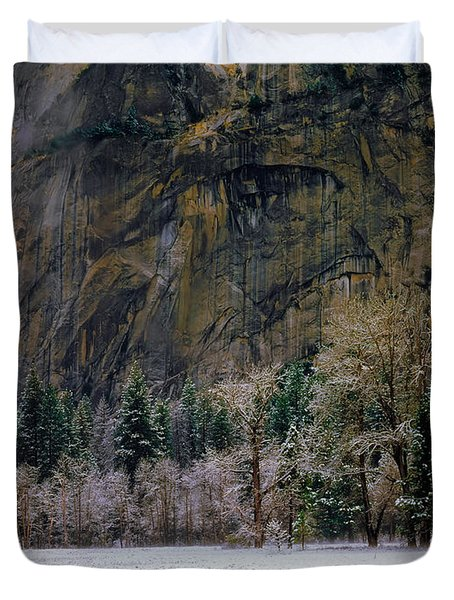 Valley Morning Duvet Cover