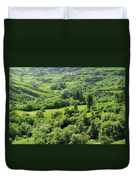 Valley Of Green Duvet Cover