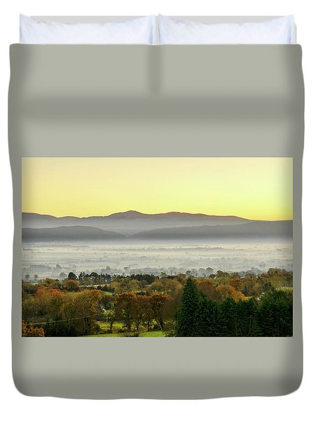 Valley Of Mist Duvet Cover