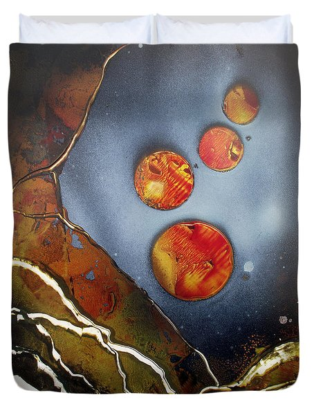 Valley Of The Moons Duvet Cover by Arlene  Wright-Correll