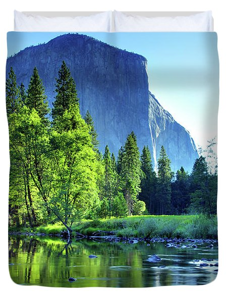 Valley View Morning Duvet Cover