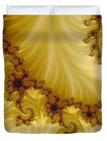 Valleys Duvet Cover by Clayton Bruster