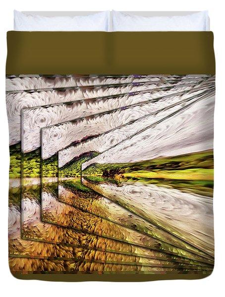 Van Gogh Perspective Duvet Cover