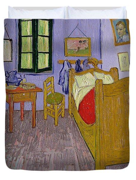 Van Goghs Bedroom At Arles Duvet Cover by Vincent Van Gogh