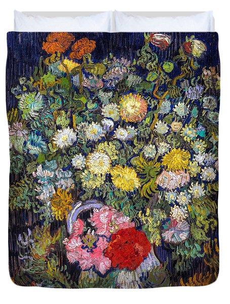 van Gogh's Vase          Duvet Cover