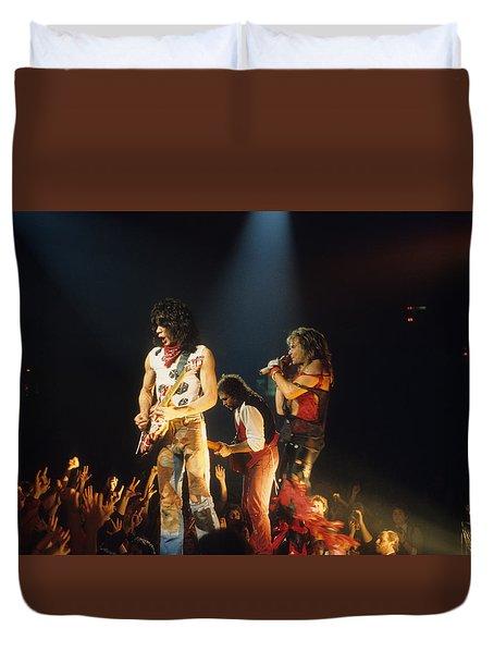 Van Halen 1984 Duvet Cover