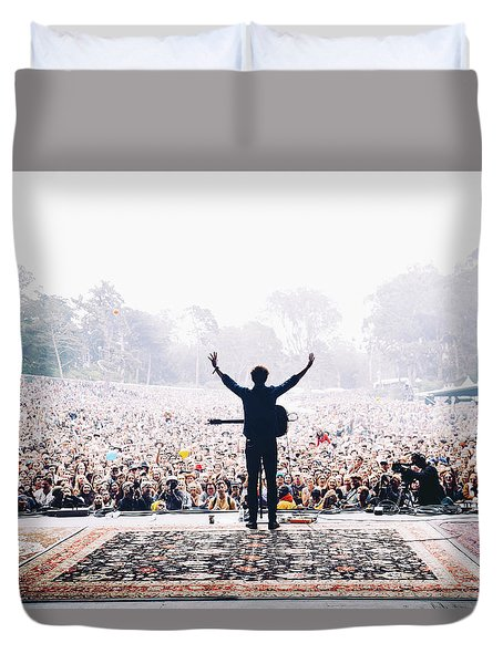 Vance Joy - Outside Lands Duvet Cover