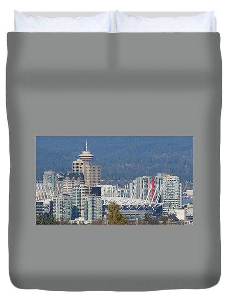 Vancouver Stadium Duvet Cover