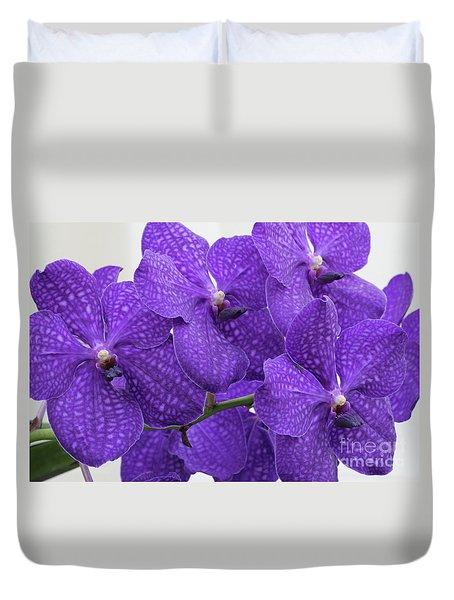 Vanda Pachara Delight #2 Duvet Cover