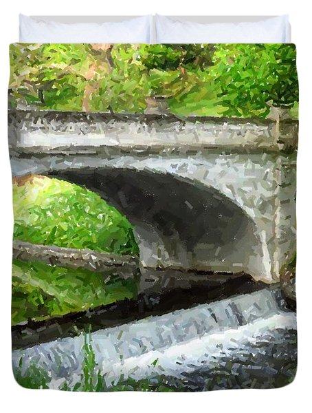 Vanderbilt Bridge Duvet Cover
