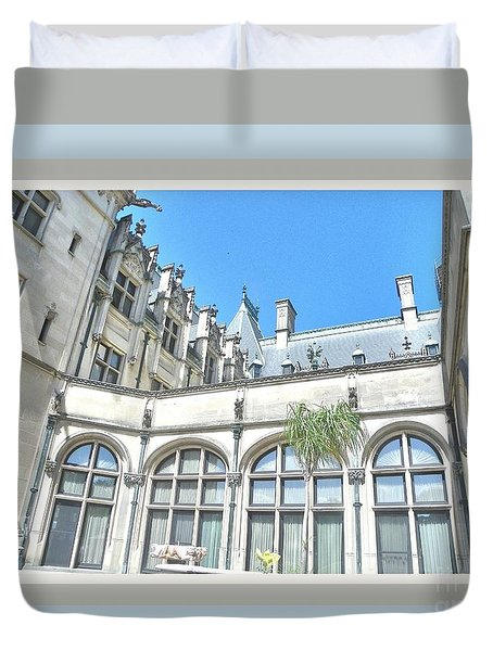Vanderbilt Mansion Duvet Cover