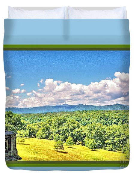 Vanderbilt View Duvet Cover