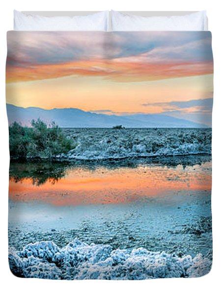 Vanilla Sunset Duvet Cover