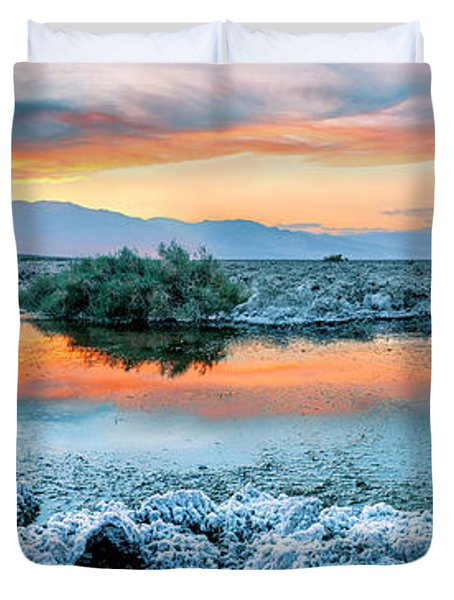 Vanilla Sunset Duvet Cover