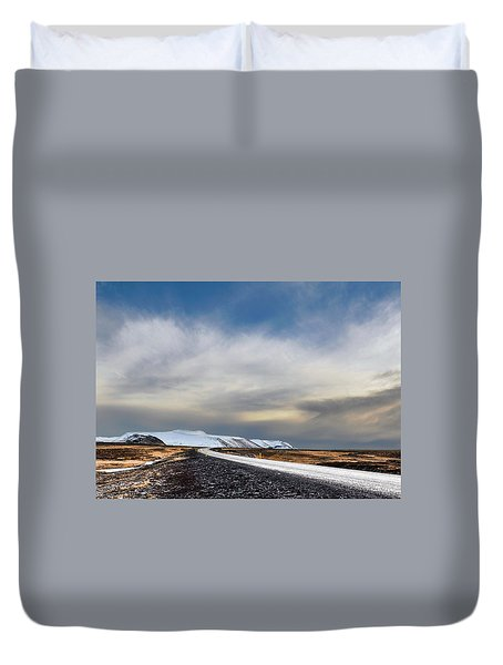 Vanishing Point Duvet Cover