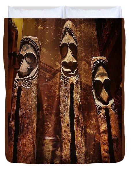 Vanuatu Trio Duvet Cover