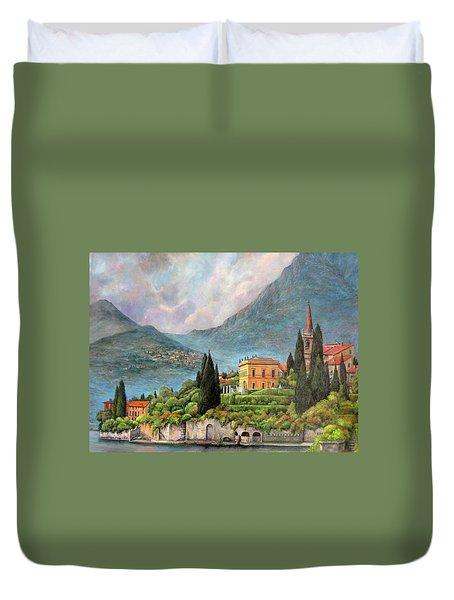 Varenna Italy Duvet Cover