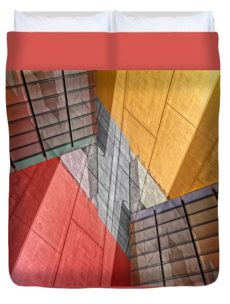 Variation On A Theme Duvet Cover by Wayne Sherriff